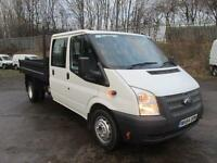 Ford Transit T350 LWB D/Cab Tipper Tdci 100Ps [Drw] Euro 5 DIESEL MANUAL (2014)
