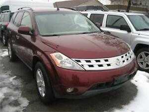 2005 Nissan Murano SL RUNS AND DRIVES AS-IS AS-TRADED DEAL