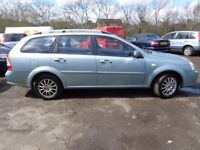 2007 07 reg chevrolet lacetti 1.6 sx estate mot for 1 year good we car £895