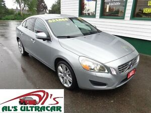 2012 Volvo S60 T6 AWD loaded for only $216 bi-weekly all in!