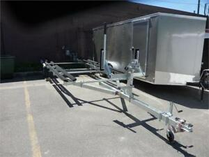 NEW 2018 GALVANIZED PONTOON BOAT TRAILERS