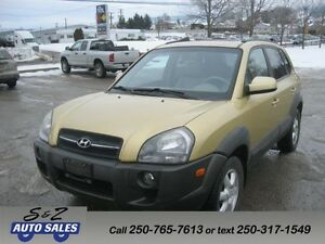 2005 Hyundai Tucson AWD LEATHER-SUNROOF LOW KM!