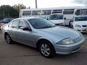 1999 Ford Falcon AU Forte Silver 4 Speed Automatic Sedan North St Marys Penrith Area Preview