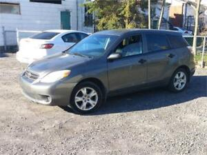 TOYOTA MATRIX MANUEL, MAGS, AIR CLIM 1499$