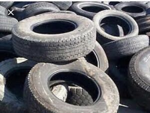 I want your old tires