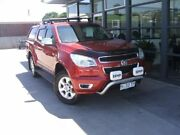 2012 Holden Colorado RG MY13 LTZ Crew Cab Red 6 Speed Sports Automatic Utility Invermay Launceston Area Preview