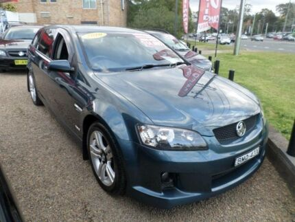 2010 Holden Commodore VE MY10 SV6 Blue 6 Speed Automatic Sportswagon Sylvania Sutherland Area Preview