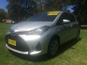 2014 Toyota Yaris NCP130R YR Silver 4 Speed Automatic Hatchback Tuggerah Wyong Area Preview