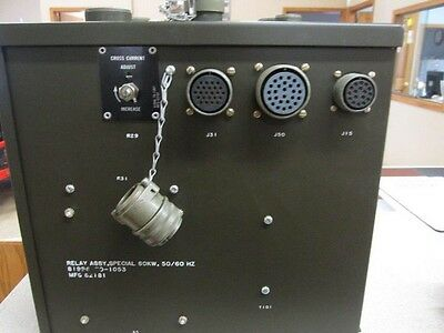 Mep 006a Special Relay Assembly 81996-70-1053 82181 60kw 5060 Hz Nsn 6115-00-24