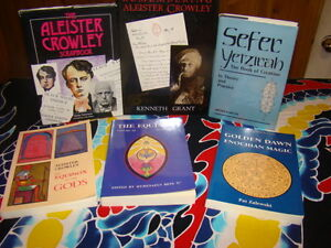 Numerous spiritual occult books, Crowley and more Kingston Kingston Area image 1