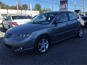 2006 Mazda3 GS SPORT SEULEMENT 151222km. $1995 514-692-2005