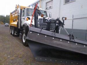 2017 International 7600 6x4, New Plow Truck