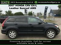 2007 Honda CR-V EX-L Leather, Sunroof, Calgary Alberta Preview