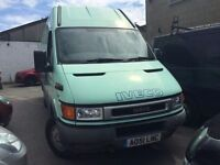 2001 Iveco Daily diesel van, starts and drives very well, does export, air conditioning, MOT until M