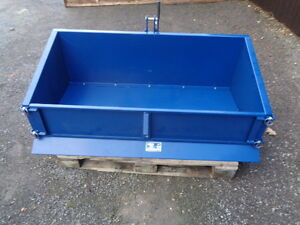 Tractor 5 ft  transport box  new designed 3 point linkage NO VAT   FREE DELIVERY