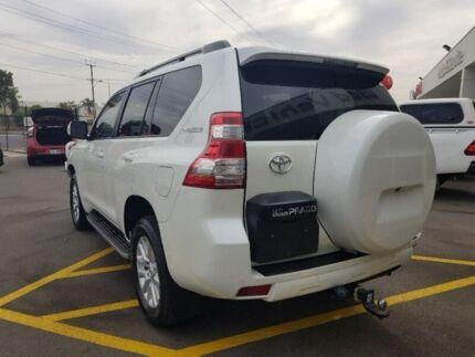 2016 Toyota Landcruiser Prado GDJ150R Kakadu White 6 Speed Sports Automatic Wagon Blair Athol Port Adelaide Area Preview