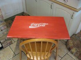 Coca cola dressing table