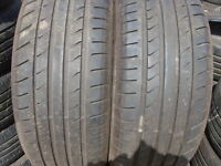 205/55/16 Continental x2 Matching Pair, 5mm+ Used Partly Worn Tyres 195 215 225 60 65 45 40 15 50