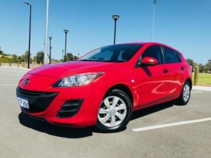 2011 Mazda 3 BL 11 Upgrade Neo Red 5 Speed Automatic Hatchback