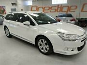 2010 Citroen C5 X7 MY10 Comfort HDi White Sports Automatic Wagon Artarmon Willoughby Area Preview