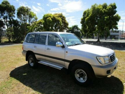 2001 Toyota Landcruiser Silver Automatic Wagon Mile End South West Torrens Area Preview