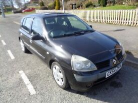 2004 Renault Clio Expression 1.5 Dci Diesel **1 OWNER** **LOW MILEAGE** **£20 TAX PER YEAR**BARGAIN