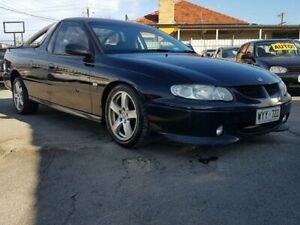 2001 Holden Ute VU II S Black 4 Speed Automatic Utility Blair Athol Port Adelaide Area Preview