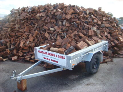 FIREWOOD JARRAH  READY TO BURN NOW!  SPLIT,  PICK UP OR DELIVERED Wangara Wanneroo Area Preview