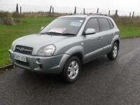 Hyundai Tucson 2.0CRTD ( 4WD ) Limited 2007 98200 Mls 11 Service Stamps Alloys