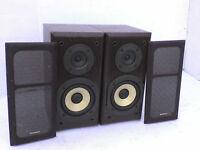60W Technics Stereo Speakers - Heathrow