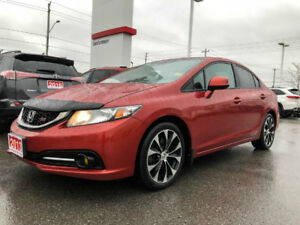 2013 Honda Civic Sedan Si 6-SPEED MANUAL!