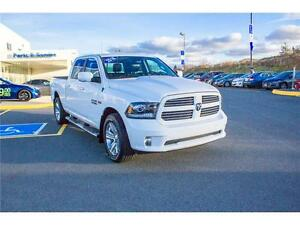 2016 Ram 1500 SPORT! LOW KMS! HEMI! TOW PACKAGE! CREW CAB