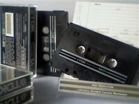 TDK SA SUPER AVILYN CASSETTE TAPES 1982 TYPE 2 CHROME.