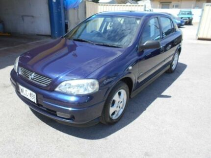 2000 Holden Astra TS CD Olympic Edition Blue 5 Speed Manual Hatchback