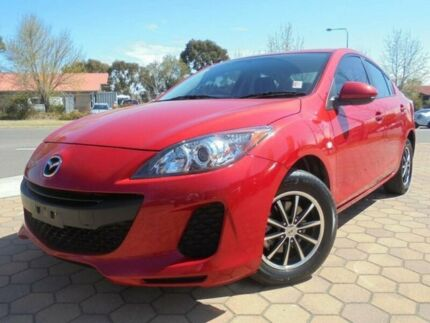 2013 Mazda 3 BL MY13 Neo Red 5 Speed Automatic Sedan