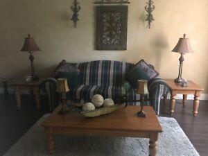 LIVING ROOM -DINING ROOM SET