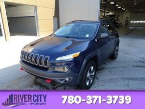 2014 Jeep Cherokee AWD TRAILHAWK Navigation (GPS),  Leather,  He