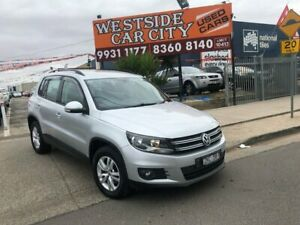 2012 Volkswagen Tiguan 5NC MY12 118 TSI (4x2) Silver 6 Speed Manual Wagon Hoppers Crossing Wyndham Area Preview