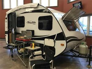 Prolite Plus lightweight travel trailer with slideout