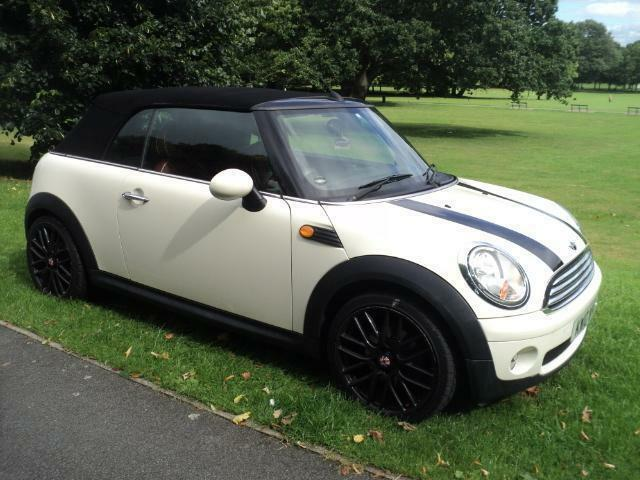 2010 10 MINI COOPER 1.6 CONVERTIBLE PETROL MANUAL