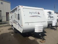 2007 JAY FEATHER 23ft HYBRID W/ SLIDE