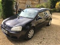 VW Golf Mk5 1.9 TDI 2005 Black - 12mths MOT