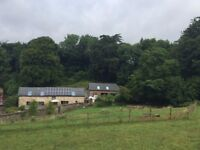 A rated 3 bed Eco Barn Conversion 2 miles from Totnes with double car port, gardens & large patio