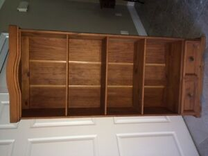 Gorgeous LARGE Wood Bookcase!