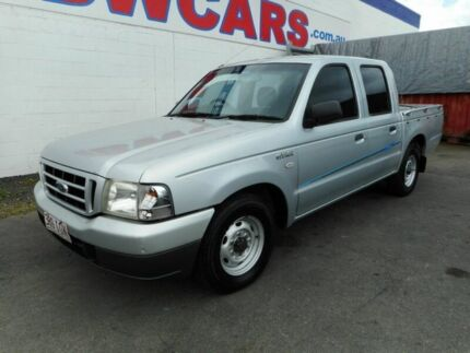 2005 Ford Courier PH GL Crew Cab Silver 5 Speed Manual Utility Yeerongpilly Brisbane South West Preview