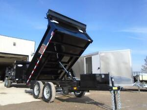 10ft LOW PROFILE QUALITY STEEL DUMP - FULL TARP KIT INCLUDED. London Ontario image 2
