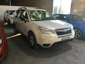 2012 Subaru Forester S4 MY13 2.0i AWD White 6 Speed Manual Wagon Cardiff Lake Macquarie Area Preview