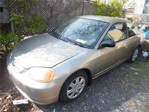 2004 Honda Civic DX, Auto , Air 219k Loaded $1495.00 Clearance