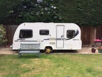 Bailey Orion 450/5 Touring Caravan, Awning, Motor-Mover, Cover plus EXTRAS