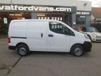 2013 Nissan NV200 1.5DCi SE 89ps E/Windows Diesel white Manual